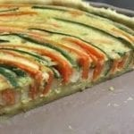 Tarte aux carottes et courgette