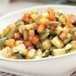 Courgettes Pommes de terre