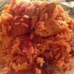 Poulet au chorizo et riz