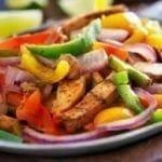 Escalopes de Poulet aux 3 légumes