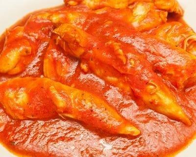 Blancs de poulet en sauce au cookeo