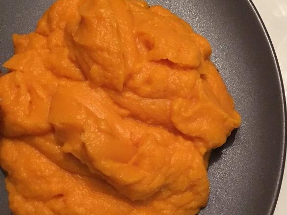 Purée de carottes cookeo