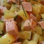 Salade de pommes de terre et lardon