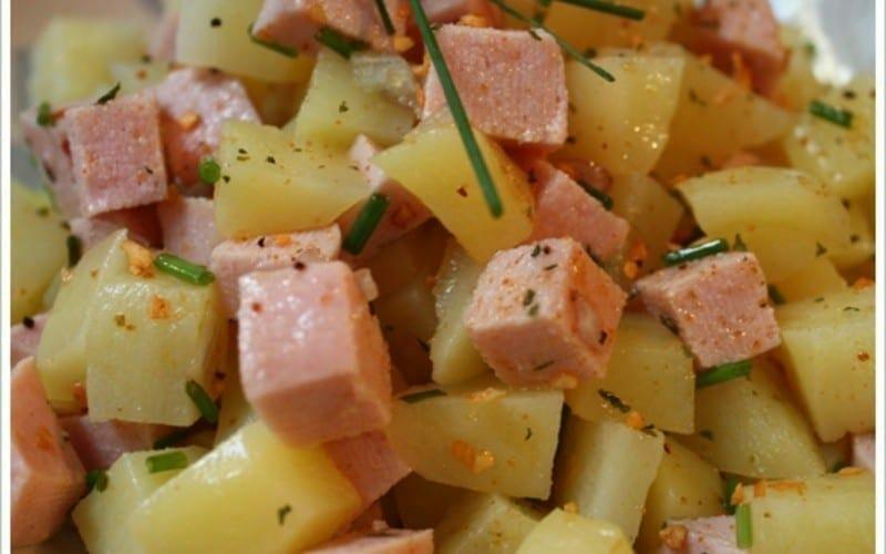 salade pommes de terre et lardon au cookeo recettes cookeo. Black Bedroom Furniture Sets. Home Design Ideas