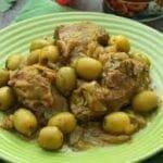 Tajine de veau aux olives et citron confit