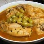 Cuisses de lapin aux olives