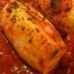 Quenelles à la suce tomate