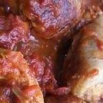 Blanquette de dinde à la tomate