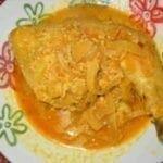 Cuisses de poulet au curry
