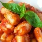 Gnocchis sauce tomate et basilic