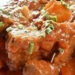 Ragoût de boeuf aux carottes